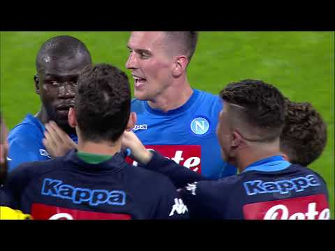 Il gol di Koulibaly - Juventus - Napoli 0-1 - Giornata 34 - Serie A TIM 2017/18