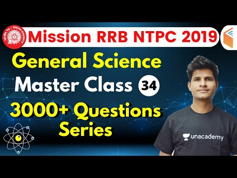 9:30 AM - RRB NTPC 2019 | GS By Neeraj Sir | 3000+ Questions Series (Part-34)