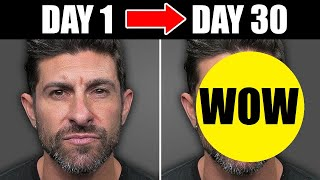 Do This EVERY Day to Get a MORE Handsome Face! (STEP BY STEP PLAN)