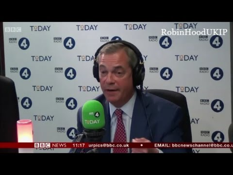 Nigel Farage says I will win, if I stand in the General Election