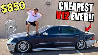 Download I Bought a TOTALED V12 Mercedes For $850 At Salvage Auction SIGHT UNSEEN! Mp3 and Videos