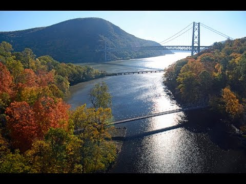 Bear Mountain New York and a DRONE!