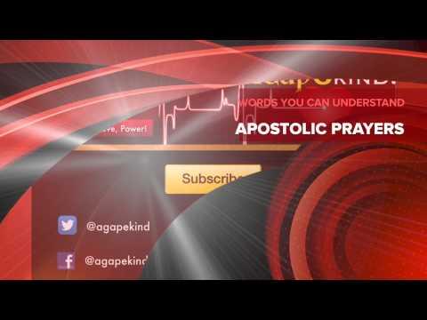 Apostolic Prayers: Releasing God's Anointing