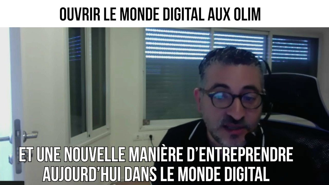 Ouvrir le monde digital aux olim - Israël demain#109