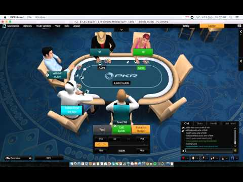 $75 PKR Final Table Omaha Midday Sun 20160219