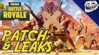 Fortnite Patch & Leaks: Season 8 Map Changes, Week 1 Challenges, Leaked Cosmetics & More!!