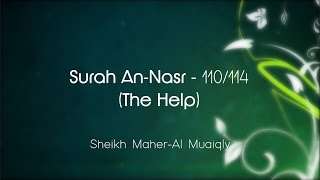 Surah An-Nasr سُوۡرَةُ النّصر Sheikh Maher Al Muaiqly - English & Arabic Translation Mp3 Yukle Endir indir Download - MP3MAHNI.AZ