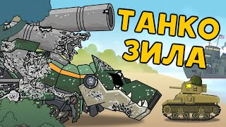 Tankozilla: its rebirth. Cartoons about tanks