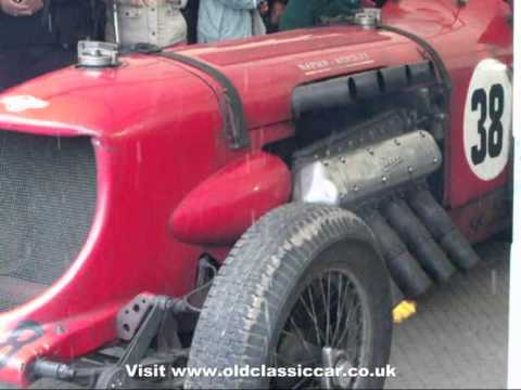 Napier Bentley aero-engine racing car VSCC