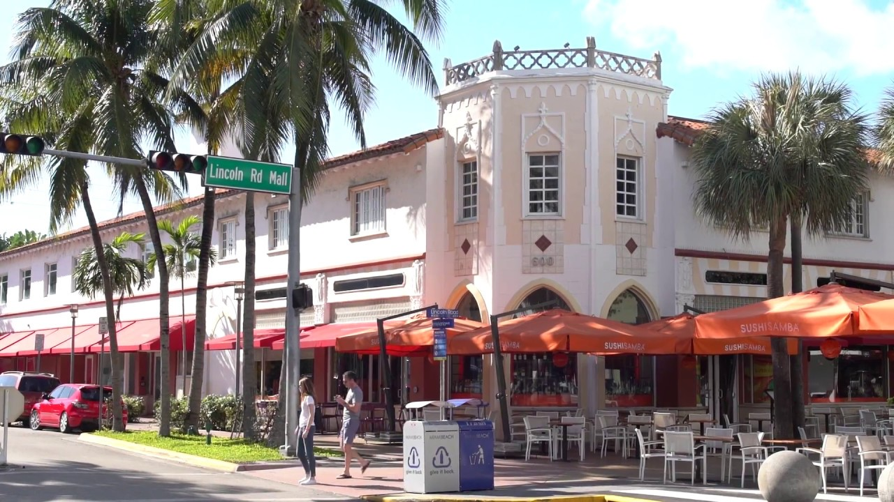 1166359ef83 Lincoln Road Miami Beach - YouTube