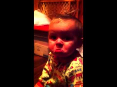 Cute Baby Doesn't Want to Go to Bed
