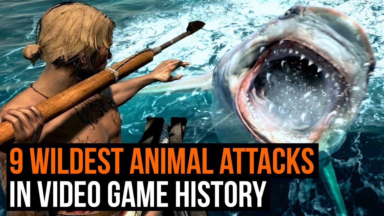9 wildest animal attacks in video game history