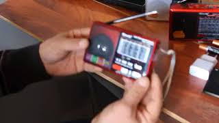 Видео обзор маленьких радиоприемников GOLON