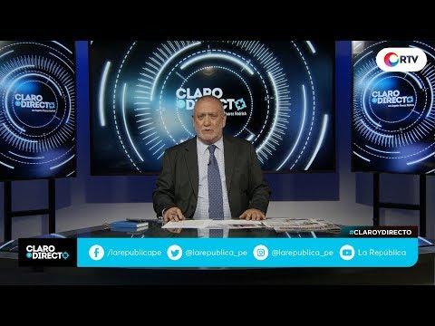 Admiten denuncias contra Chávarry | Claro y Directo con Augusto Álvarez Rodrich