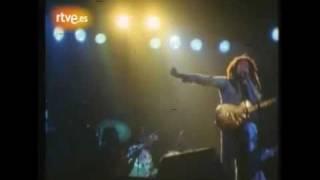Rare video Bob Marley No woman no cry Spain