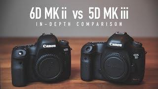 5D Mark iii vs 6D Mark ii In-Depth Comparison