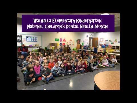 National Children's Dental Health Month Workshop at Walhalla Elementary School