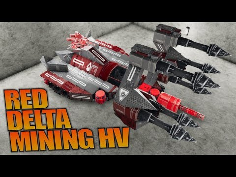 RED DELTA MINING HV | Empyrion: Galactic Survival | Let's Play Gameplay | S12E13