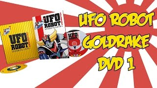Goldrake by Yamato Video [Unboxing]