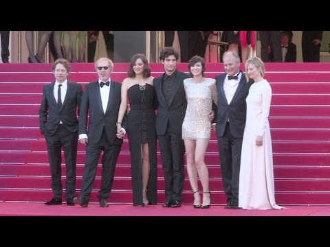 Marion Cotillard, Charlotte Gainsbourg, Louis Garrel and more on the red carpet in Cannes
