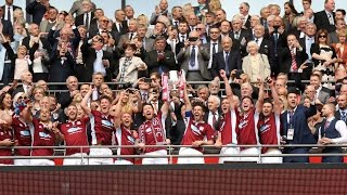 Highlights: FA Vase final - South Shields 4-0 Cleethorpes Town