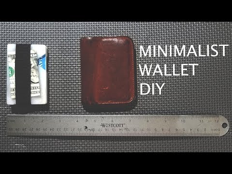 DIY Minimalist Wallet- THE RIDGE