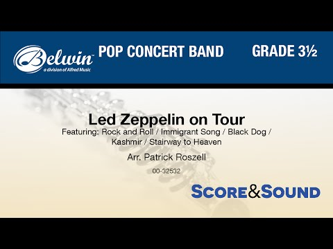 Led Zeppelin on Tour, arr. Patrick Roszell - Score & Sound