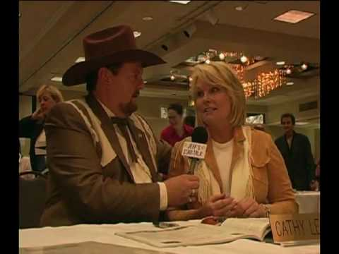 Jeff Sutherland Host of Jeff's Star Talk show Interviews Cathy Lee Crosby