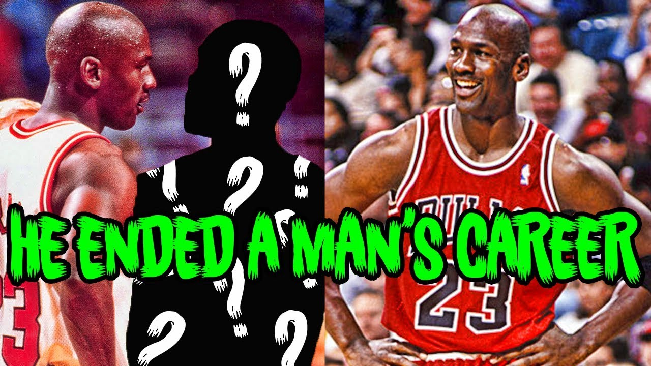 3eb15621432d87 How Michael Jordan ENDED a Man s Career with 3 Words - YouTube