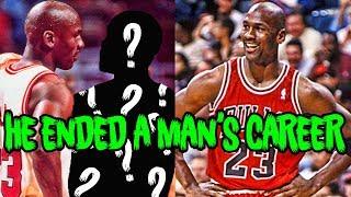 How Michael Jordan ENDED a Man