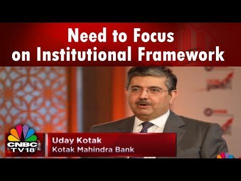 Need to Focus on Institutional Framework: Uday Kotak on PNB case   CNBC TV18