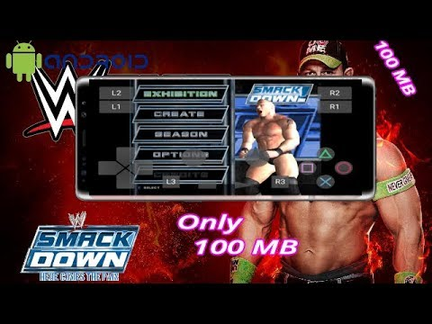 [100mb]Download WWE Smackdown Here Comes The Pain Full Game For Android | Aftab Sayyed