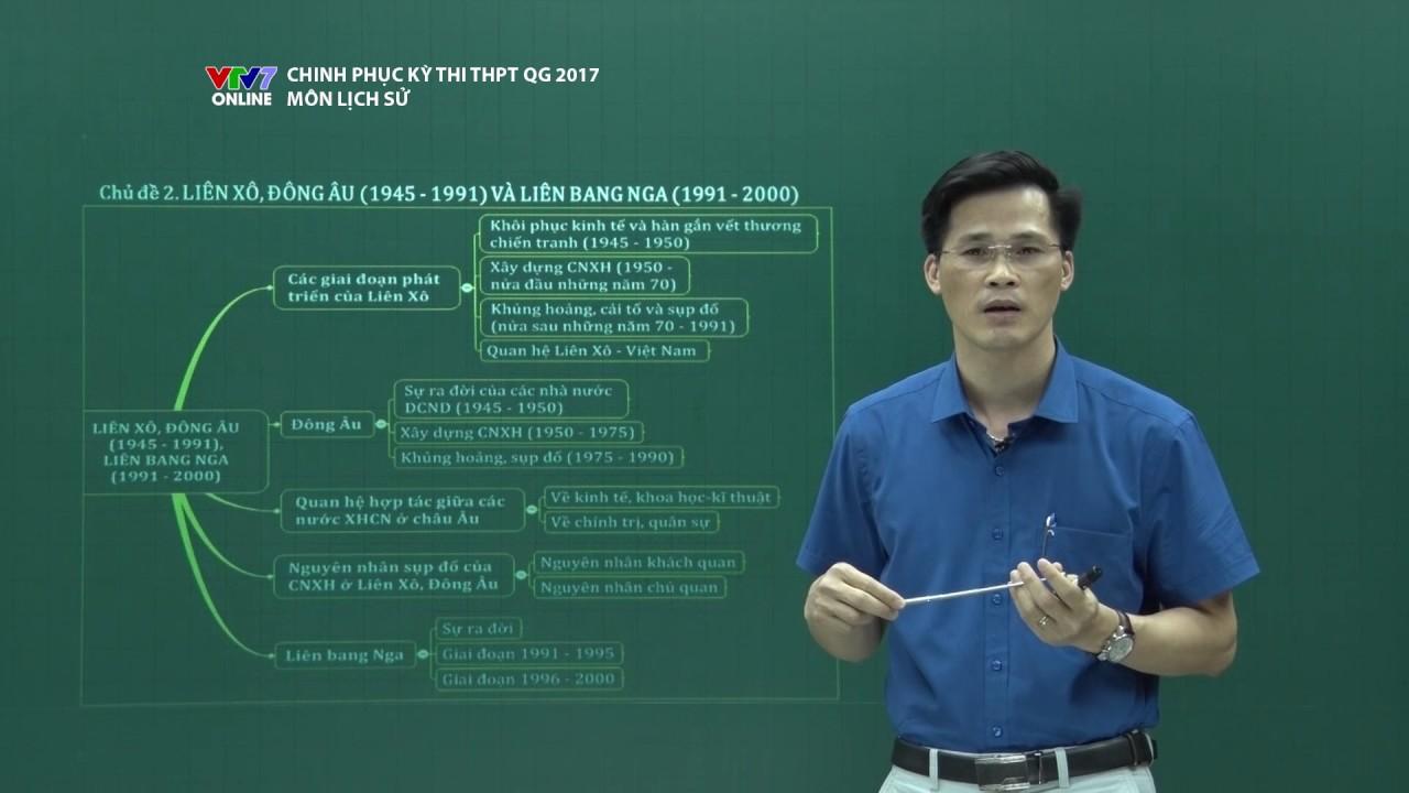 CHINH PHỤC KỲ THI | Lịch sử | Lịch sử thế giới 1945 – 2000
