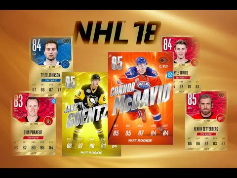 FIRST NHL 18 PACK OPENING!!!