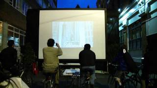 Living Streets Festival Dublin 2011 - Pedal Powered Cinema