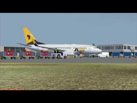 vol Ouagadougou à Lomé Boeing 737 700 Asky vol commenté