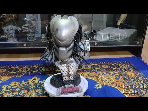 Sideshow Collectibles Legendary Scale Predator Bust Review !