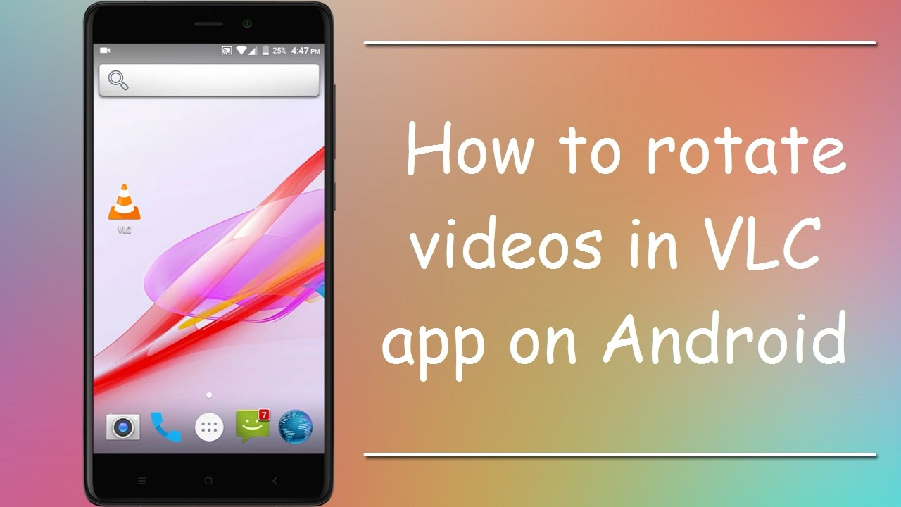How to rotate video in vlc media player on android youtube how to rotate video in vlc media player on android ccuart Images