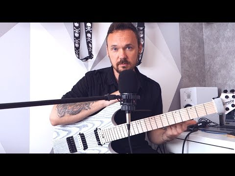 Обзор новой гитары Fredguitarist Lepsky Dominator 7