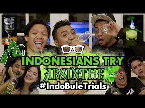 #IndoBuleTrials: Indonesians Try Absinthe (feat. Cameo Project!)
