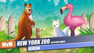 New York Zoo Review - Rosenberg's Uncaged New Game