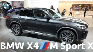 BMW X4 M Sport X (2019) - quick look in 4K