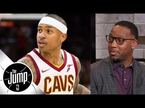 Tracy McGrady has no problem with Isaiah Thomas-Dan Gilbert being close | The Jump | ESPN