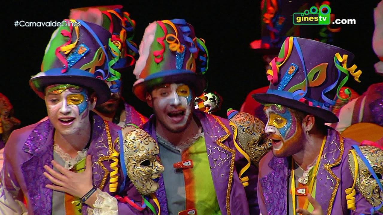 Malditos. Carnaval de Gines 2018 (Tercera semifinal)