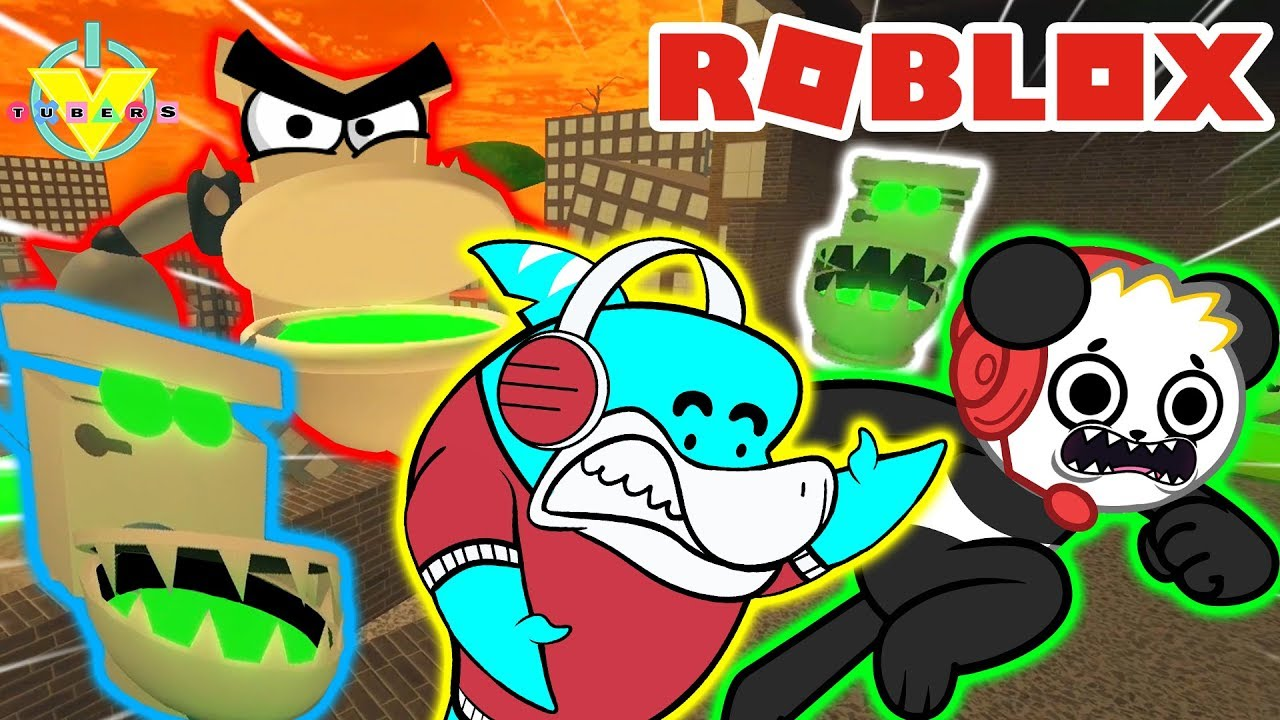 Roblox Escape School Obby Lets Play With Combo Panda Escape The Shrunken School In Roblox Let S Play Back To School