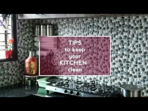13 Realistic Tips to keep the Kitchen Clean