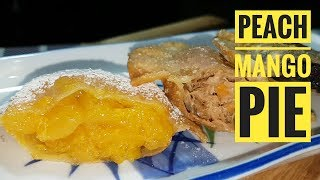 Pocket Pies | Peach Mango Pie | Tuna Pie | Ube Pie (fried pies)