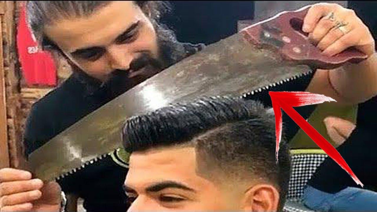 5 Tukang Cukur Tergila di Dunia- Skill Tingkat Dewa Potong ...