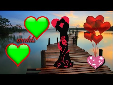 HappyVelentine day green screen effects// green screen love background video | vfx Green screen thumbnail