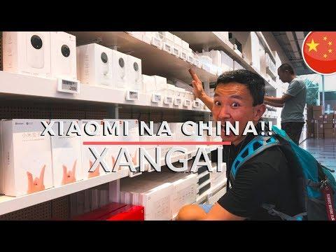 Visitando A Loja Da XIAOMI Na CHINA !!!! Xangai 2019. LATITUDE INFINITA